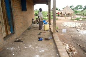 The Water Project: Karagalya Kawanga Community -  Geofrey At His Homestead