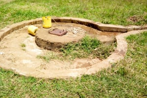 The Water Project: Khabukoshe Primary School -  Current Water Source