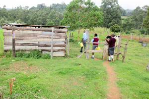 The Water Project: Koitabut Secondary School -  Going To Fetch Water