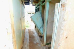 The Water Project: Ichinga Muslim Primary School -  Latrines