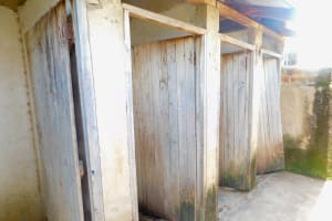 The Water Project: Elufafwa Community School -  Latrines