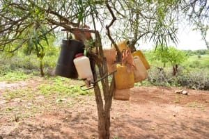 The Water Project: Ndithi Community -  More Water Storage