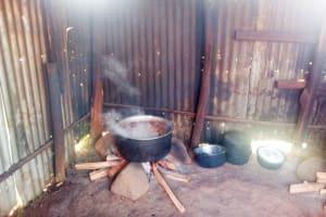 The Water Project: Namasanda Secondary School -  School Kitchen