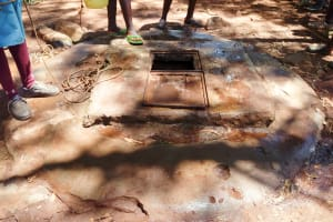 The Water Project: Sango Primary School -  Well