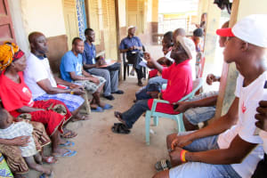 The Water Project: Modia Community, 63 Spur Road -  Water User Committee Meeting