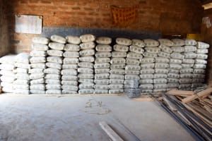 The Water Project: Kitooni Primary School -  Cement For Construction