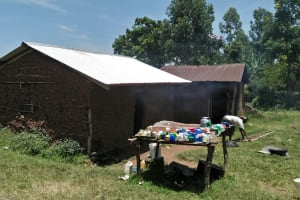The Water Project: Lwakhupa Primary School -  School Kitchen Prepares Staff Lunch