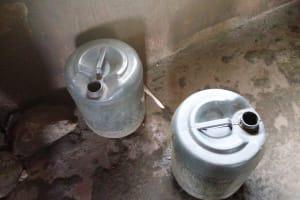 The Water Project: Sikhendu Primary School -  Water Storage In Kitchen