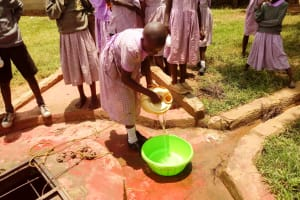 The Water Project: Mayoni Township Primary School -  Fetching Water