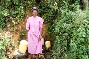 The Water Project: Musango Community, Mwichinga Spring -  Rose Kangu