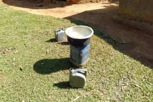 The Water Project: Sambuli Community, Nechesa Spring -  Water Storage