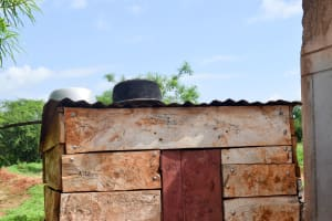 The Water Project: Kithoni Community -  Dishes Drying