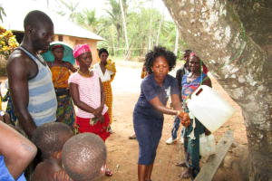 The Water Project: Roloko Community -  Handwashing Training