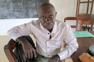 The Water Project: United Brethren Academy Secondary School -  Principal Sesay