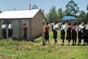 The Water Project: Lwakhupa Mixed Secondary School -  Overcrowded Latrines