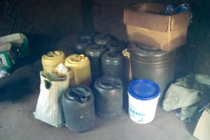 The Water Project: Musango Mixed Secondary School -  Water Containers