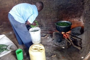 The Water Project: Matungu SDA Special School -  Inside The Kitchen