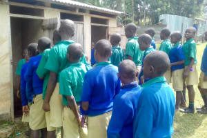 The Water Project: Koitabut Primary School -  Line For Latrines
