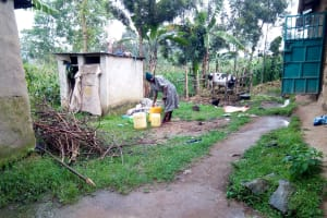 The Water Project: Bukhakunga Community, Ngovilo Spring -  Where Water Is Stored