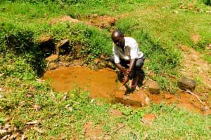 The Water Project: Wajumba Community, Wajumba Spring -  Evans At The Spring
