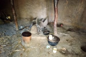 The Water Project: Sambuli Community, Nechesa Spring -  Inside A Kitchen
