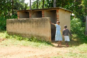 The Water Project: Mabanga Primary School -  Latrines