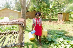 The Water Project: Emukoyani Community, Ombalasi Spring -  Rose Aiti