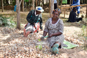 The Water Project: Kitooni Primary School -  Breaking Up Stones