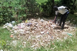The Water Project: Lwakhupa Mixed Secondary School -  Garbage Disposal