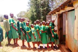 The Water Project: Sikhendu Primary School -  Latrines