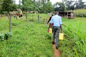 The Water Project: Koitabut Secondary School -  Carrying Water