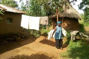The Water Project: Musango Community, Mushikhulu Spring -  Clothesline