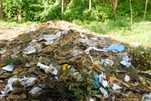The Water Project: Eshiakhulo Primary School -  Garbage Pile