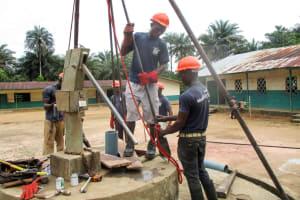 The Water Project: DEC Komrabai Primary School -  Drilling