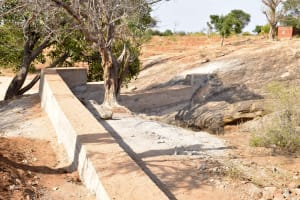 The Water Project: Maluvyu Community D -  Sand Dam