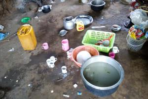 The Water Project: Khabukoshe Primary School -  Inside School Kitchen