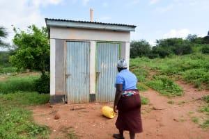 The Water Project: Kithoni Community -  Latrine