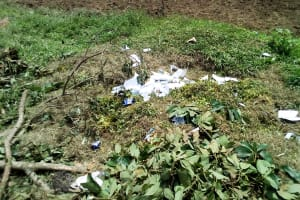 The Water Project: Musango Mixed Secondary School -  Garbage Disposal
