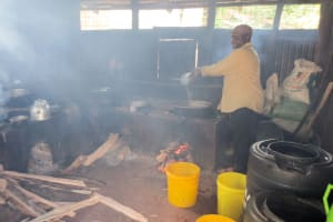 The Water Project: Koitabut Secondary School -  In The Smoky Kitchen