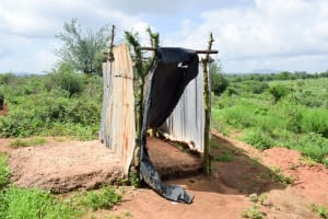The Water Project: Kithoni Community A -  Latrine
