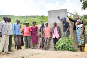 The Water Project: Mitini Community C -  Flowing Water