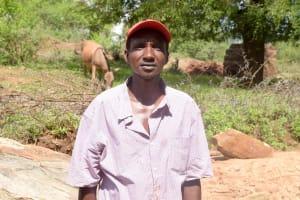 The Water Project: Ndithi Community -  Mwanzia Muli