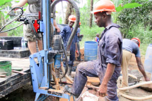 The Water Project: Roloko Community -  Drilling