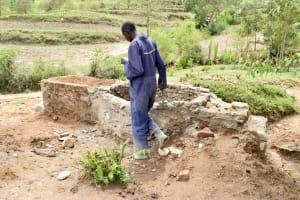 The Water Project: Mitini Community C -  Construction Progress