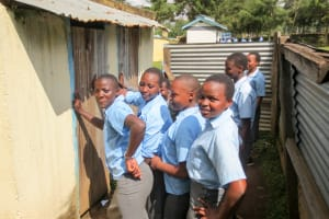 The Water Project: Koitabut Secondary School -  Lines At Latrines