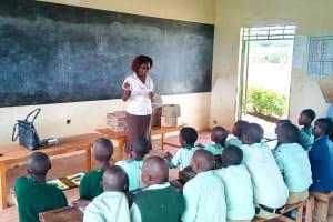 The Water Project: Eshikufu Primary School -  Trainer Jacky