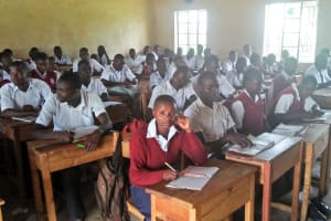 The Water Project: Lwakhupa Mixed Secondary School -  Students In Class