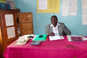 The Water Project: Shibinga Primary School -  Mr Richard Wafula