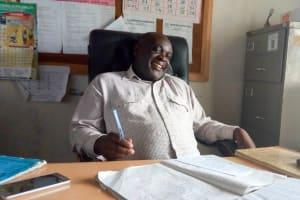 The Water Project: Chebunaywa Secondary School -  Geoffrey Mmaitsi
