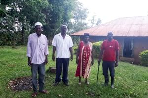 The Water Project: Malava Community, Ndevera Spring -  Community Members